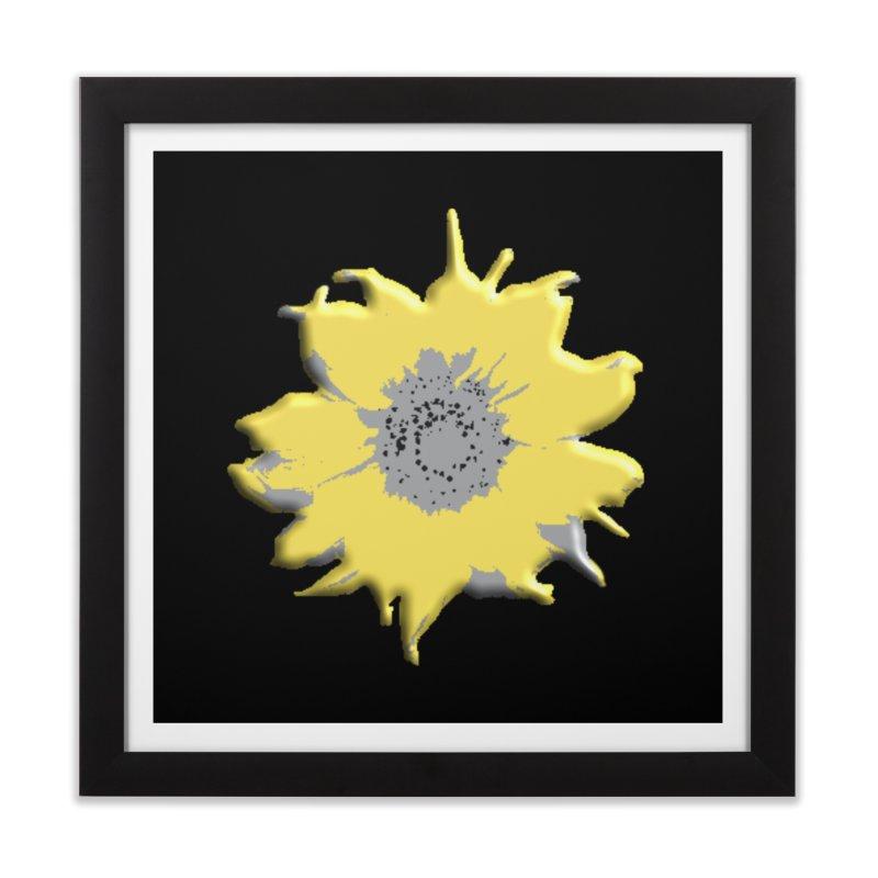 Sunflower Spill Home Framed Fine Art Print by C. Cooley's Artist Shop