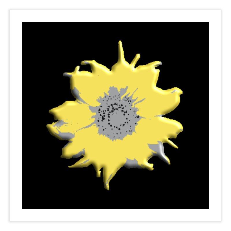 Sunflower Spill Home Fine Art Print by C. Cooley's Artist Shop