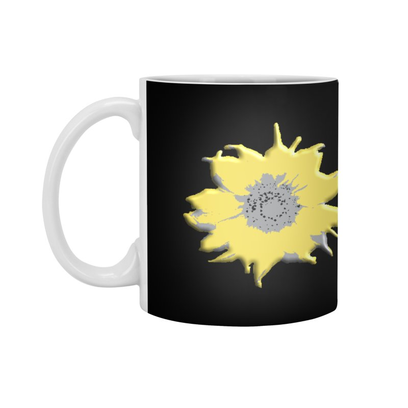 Sunflower Spill Accessories Mug by C. Cooley's Artist Shop
