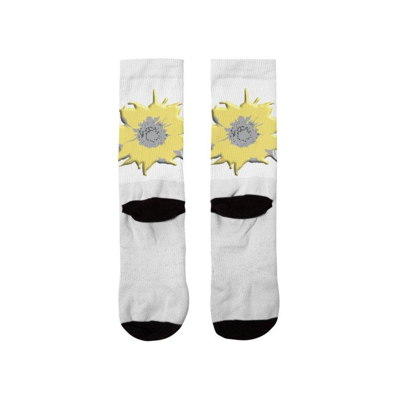 Sunflower Spill Women's Socks by C. Cooley's Artist Shop