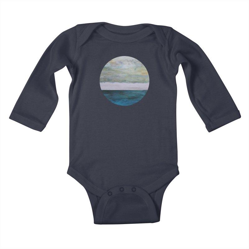 Fathom Kids Baby Longsleeve Bodysuit by C. Cooley's Artist Shop