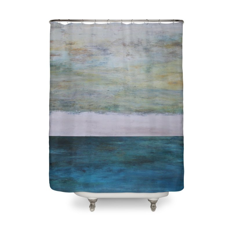 Fathom Home Shower Curtain by C. Cooley's Artist Shop