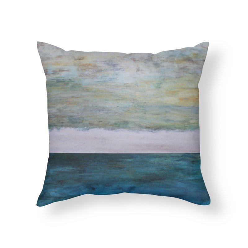 Fathom Home Throw Pillow by C. Cooley's Artist Shop