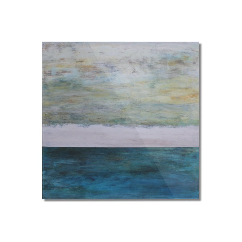 Fathom Home Mounted Acrylic Print by C. Cooley's Artist Shop