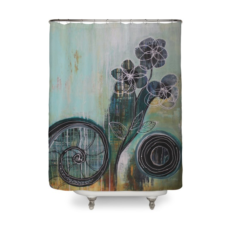 Regardless Home Shower Curtain by C. Cooley's Artist Shop