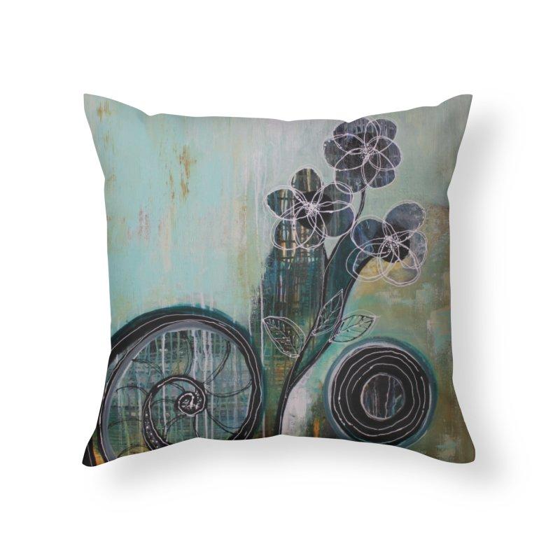 Regardless Home Throw Pillow by C. Cooley's Artist Shop