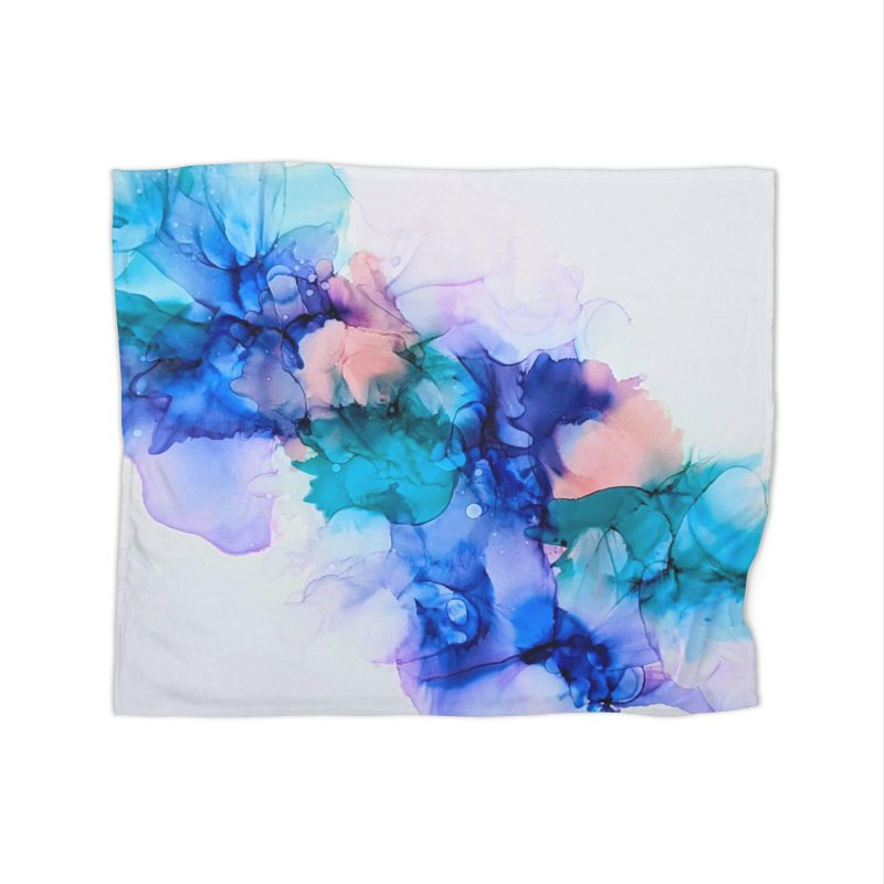 Nebula Home Blanket by C. Cooley's Artist Shop