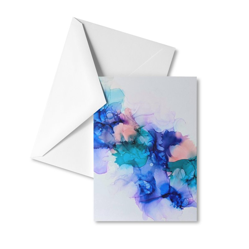 Nebula Accessories Greeting Card by C. Cooley's Artist Shop