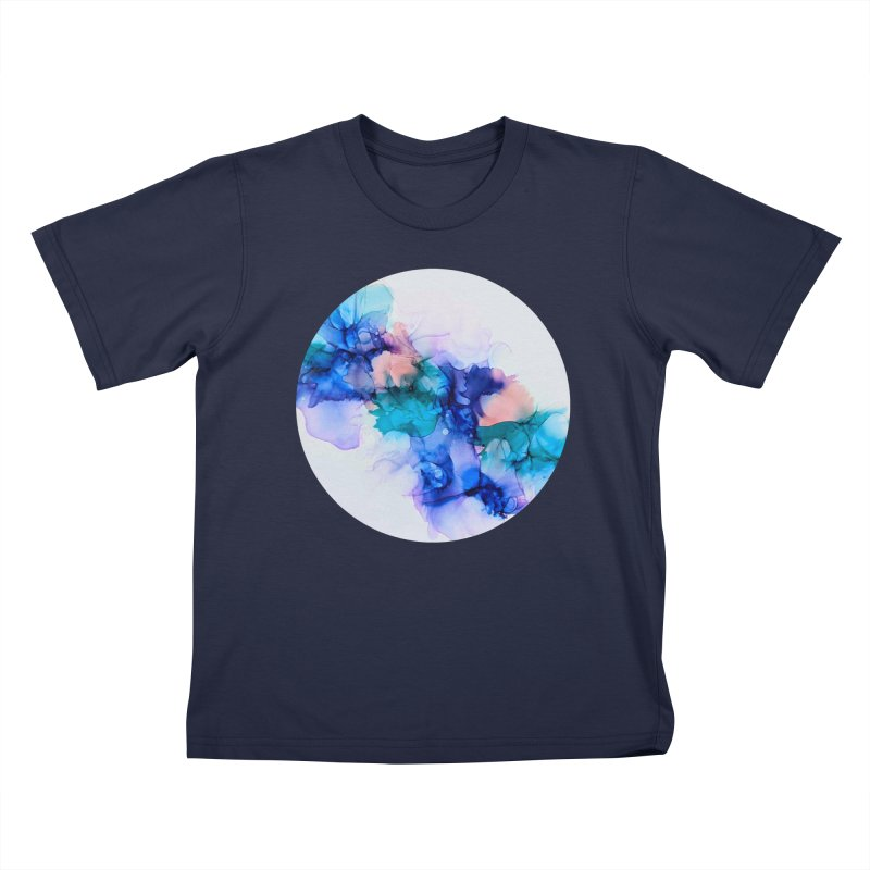 Nebula Kids T-Shirt by C. Cooley's Artist Shop