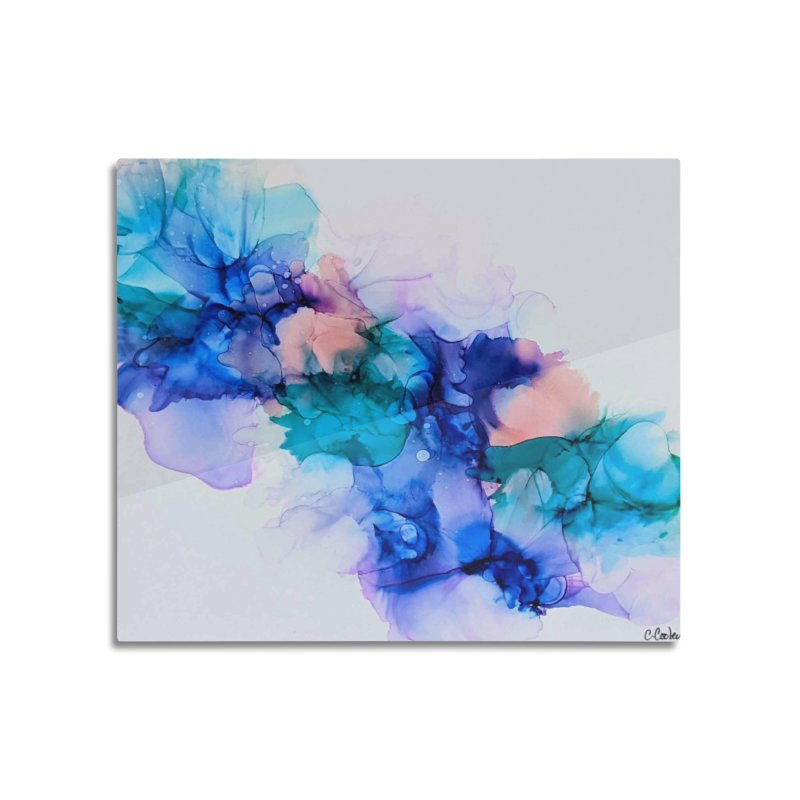 Nebula Home Mounted Acrylic Print by C. Cooley's Artist Shop