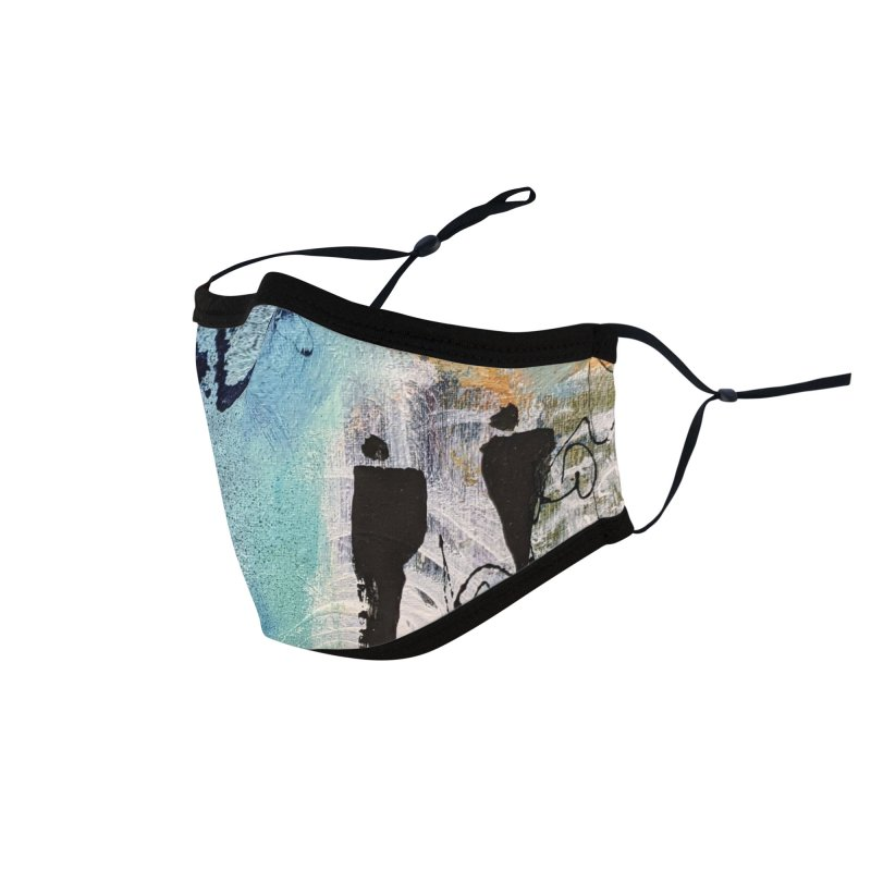Musing Accessories Face Mask by C. Cooley's Artist Shop