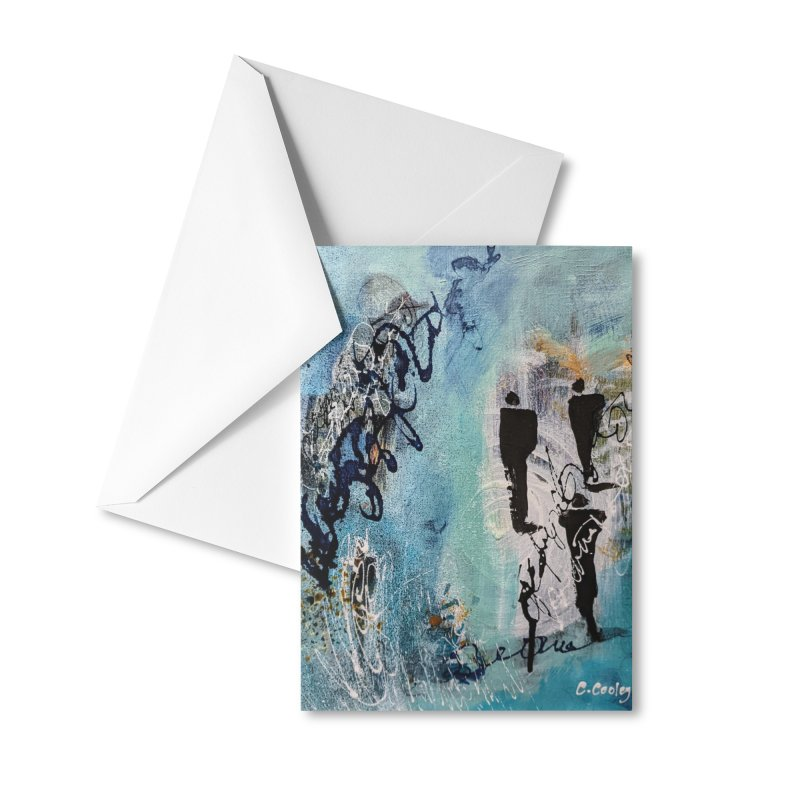 Musing Accessories Greeting Card by C. Cooley's Artist Shop