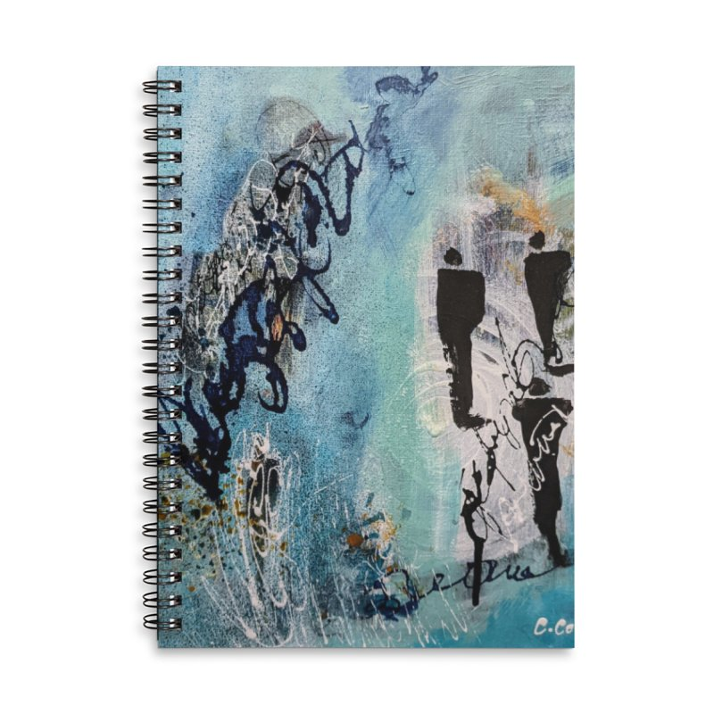 Musing Accessories Notebook by C. Cooley's Artist Shop