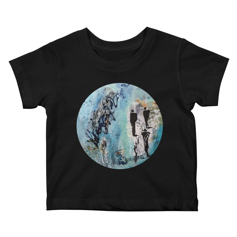 Musing Kids Baby T-Shirt by C. Cooley's Artist Shop