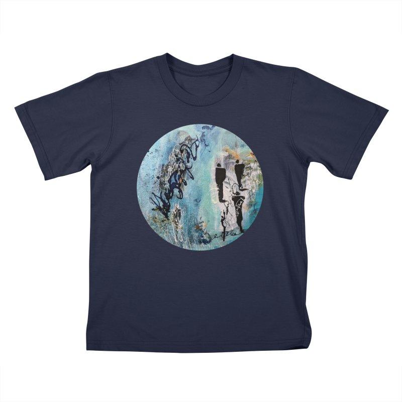 Musing Kids T-Shirt by C. Cooley's Artist Shop