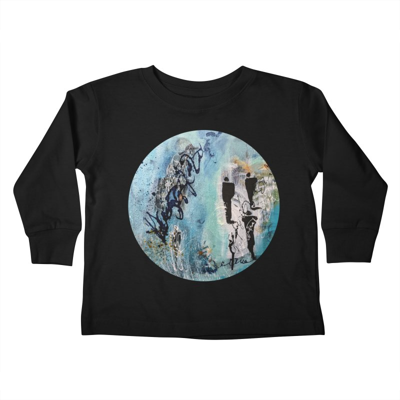 Musing Kids Toddler Longsleeve T-Shirt by C. Cooley's Artist Shop