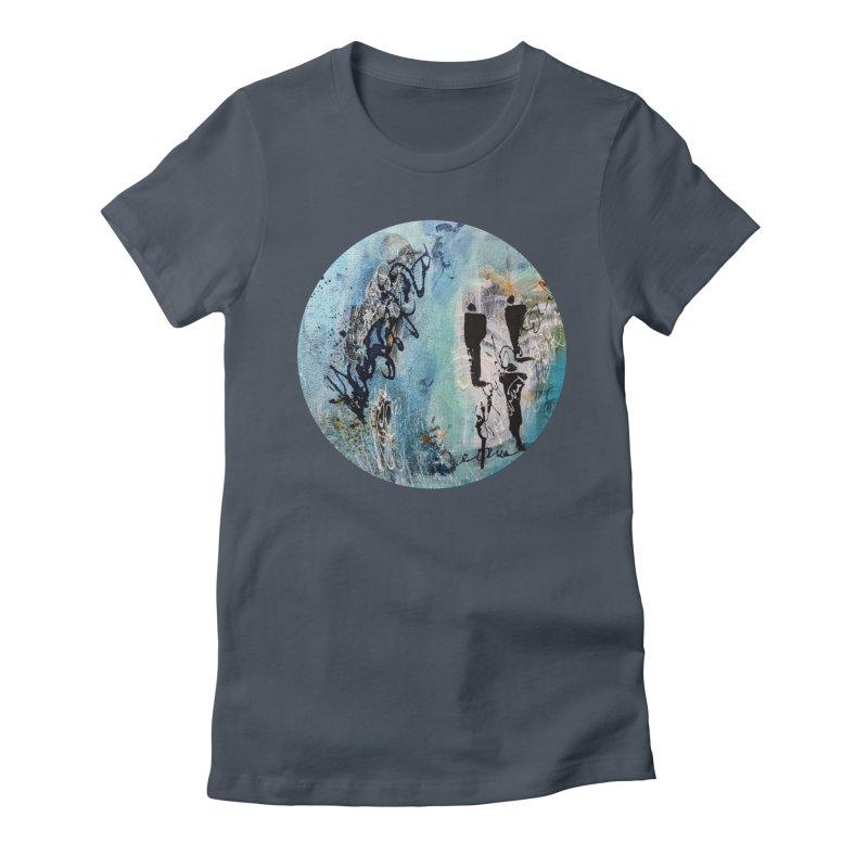 Musing Women's T-Shirt by C. Cooley's Artist Shop