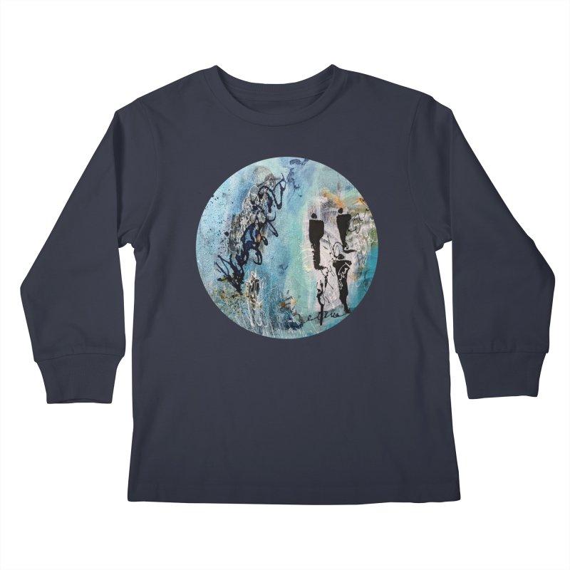Musing Kids Longsleeve T-Shirt by C. Cooley's Artist Shop