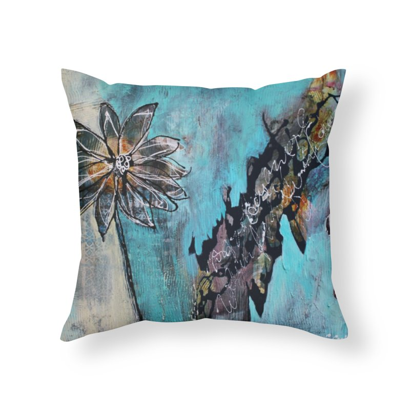 Wishing Home Throw Pillow by C. Cooley's Artist Shop