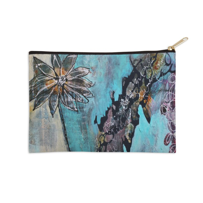Wishing Accessories Zip Pouch by C. Cooley's Artist Shop