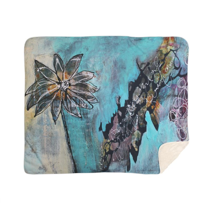 Wishing Home Blanket by C. Cooley's Artist Shop