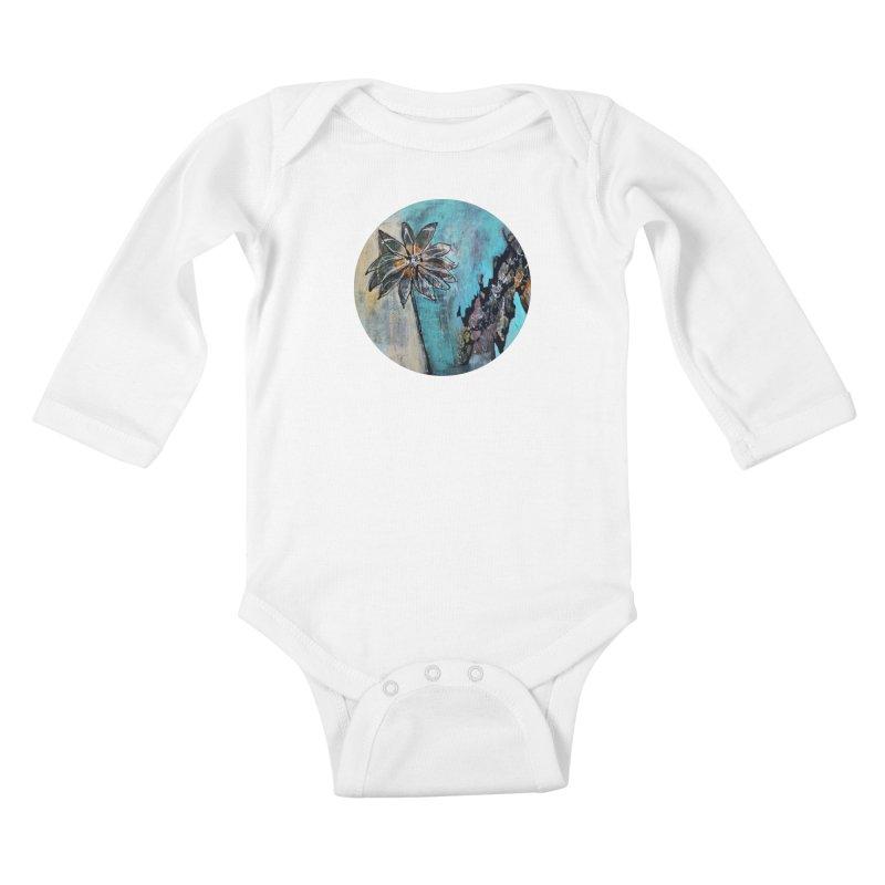 Wishing Kids Baby Longsleeve Bodysuit by C. Cooley's Artist Shop