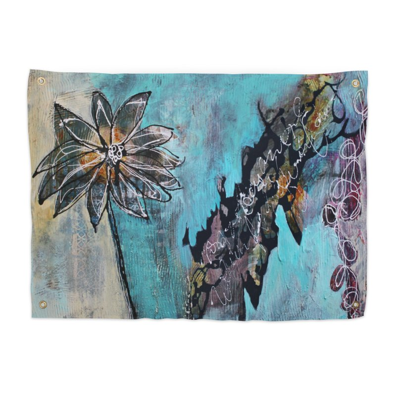 Wishing Home Tapestry by C. Cooley's Artist Shop