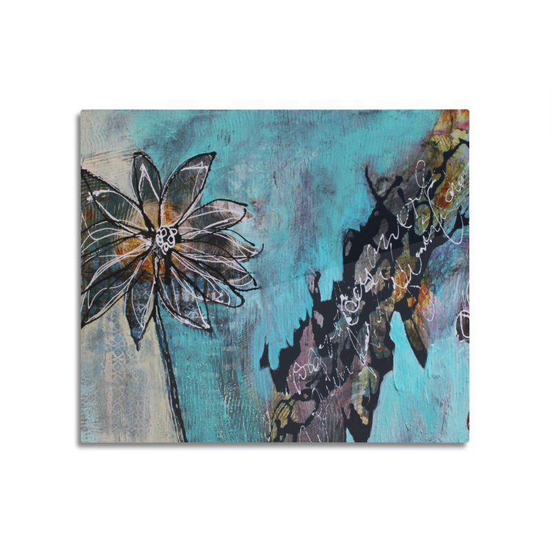 Wishing Home Mounted Aluminum Print by C. Cooley's Artist Shop