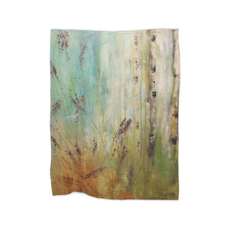 Respite Home Blanket by C. Cooley's Artist Shop