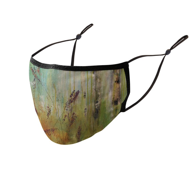 Respite Accessories Face Mask by C. Cooley's Artist Shop