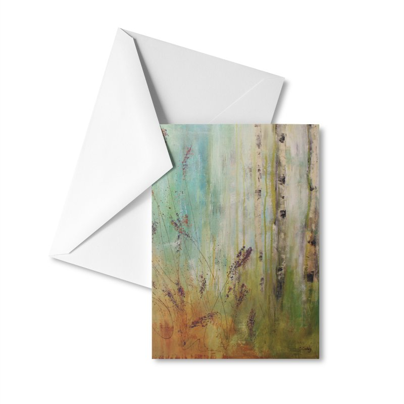Respite Accessories Greeting Card by C. Cooley's Artist Shop