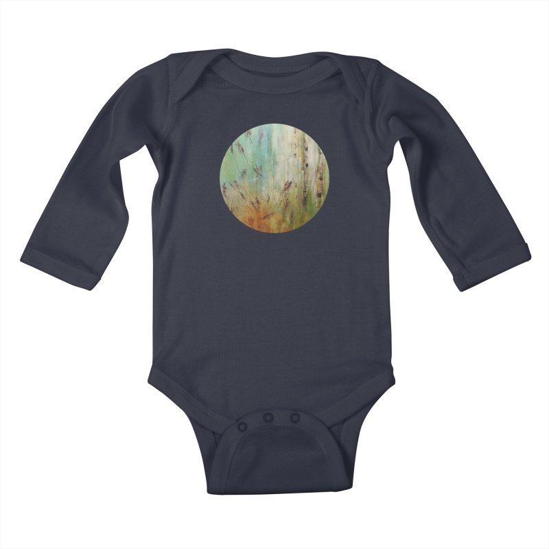Respite Kids Baby Longsleeve Bodysuit by C. Cooley's Artist Shop