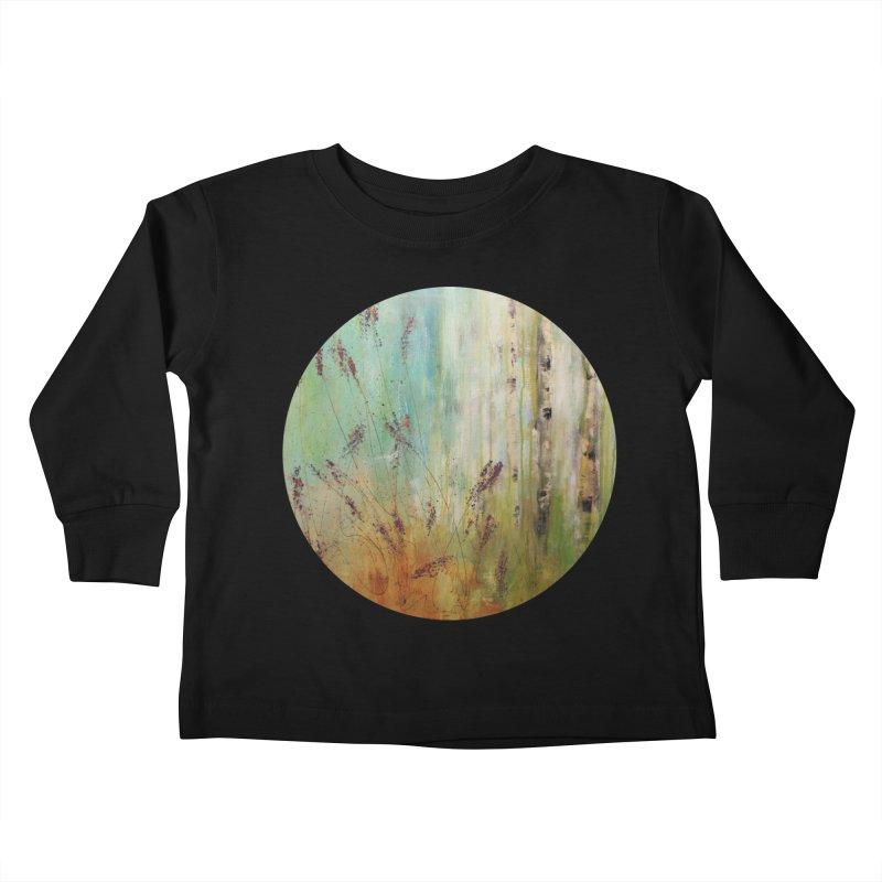 Respite Kids Toddler Longsleeve T-Shirt by C. Cooley's Artist Shop