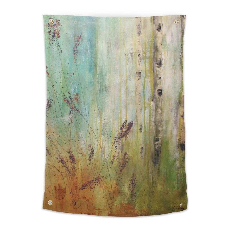 Respite Home Tapestry by C. Cooley's Artist Shop