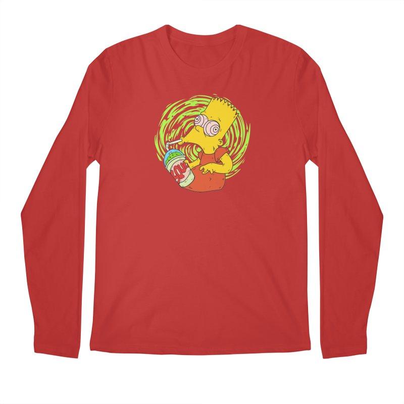 BartSquishy Men's Longsleeve T-Shirt by cearlsonvios's Artist Shop