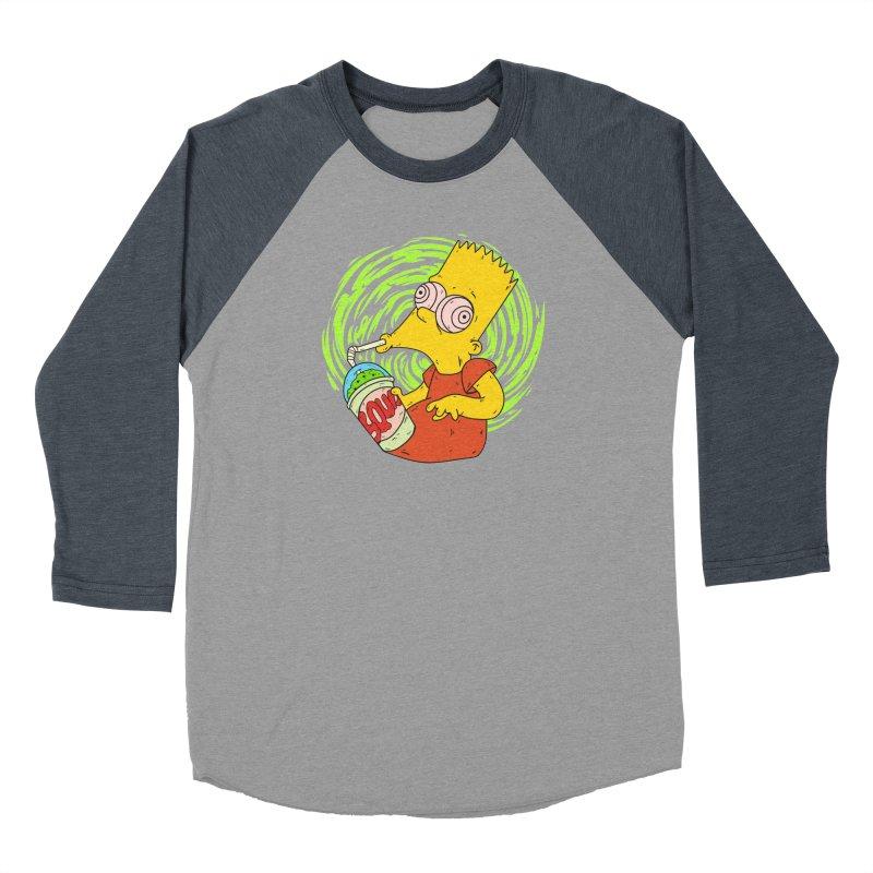 BartSquishy Men's Baseball Triblend T-Shirt by cearlsonvios's Artist Shop
