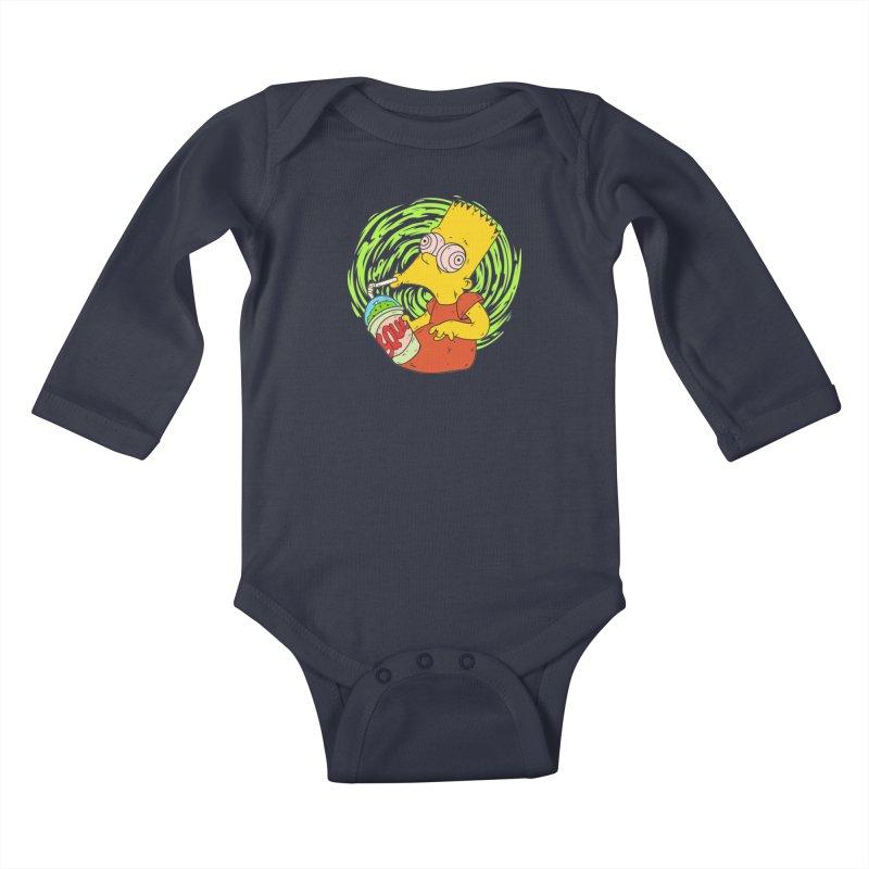 BartSquishy Kids Baby Longsleeve Bodysuit by cearlsonvios's Artist Shop