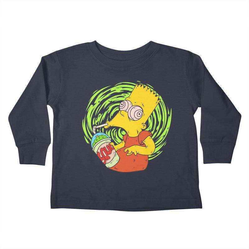 BartSquishy Kids Toddler Longsleeve T-Shirt by cearlsonvios's Artist Shop
