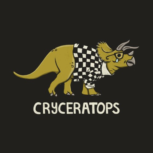 Design for CRYceratops Dinosaur