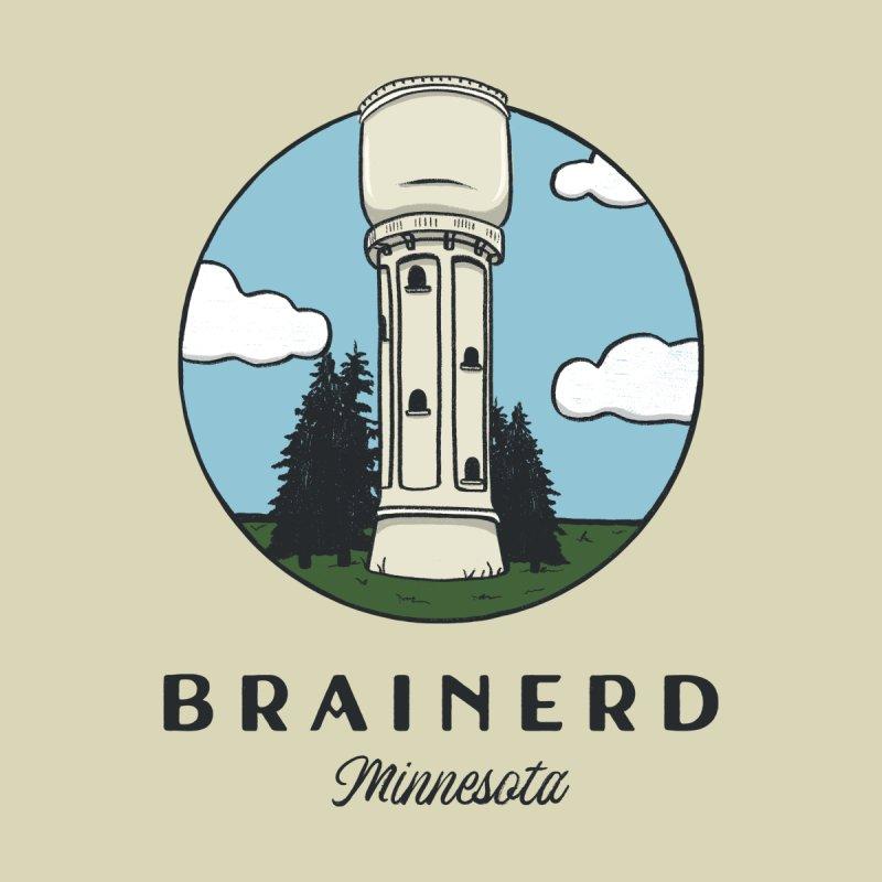 Brainerd, Minnesota Design Men's T-Shirt by Cecelia Hotzler Design