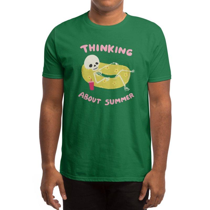 Thinking About Summer Men's T-Shirt by Cecelia Hotzler Design