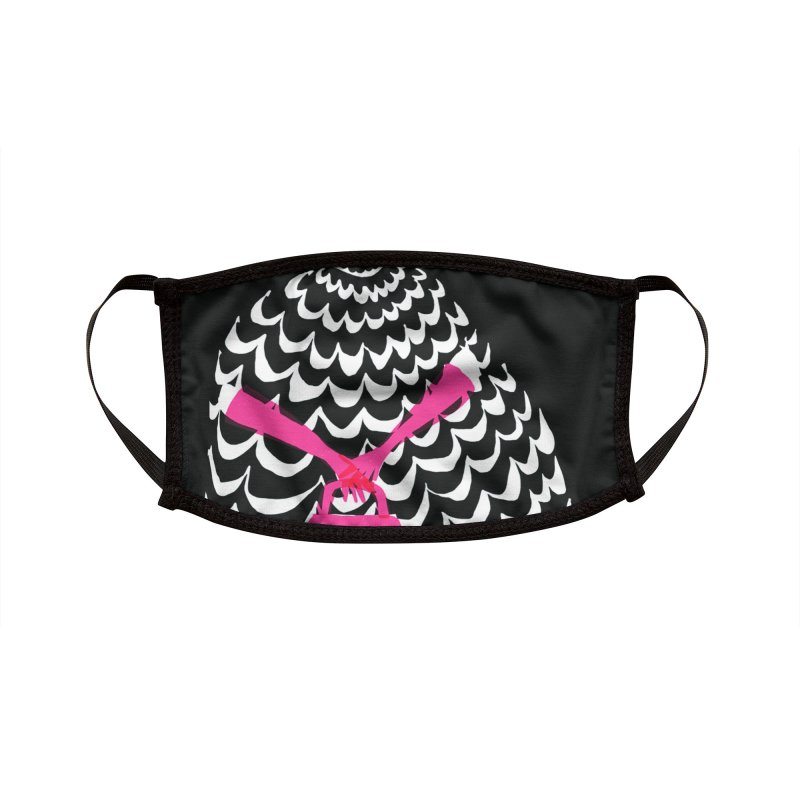 Pink Purse Accessories Face Mask by Ceci Bowman's Product Site