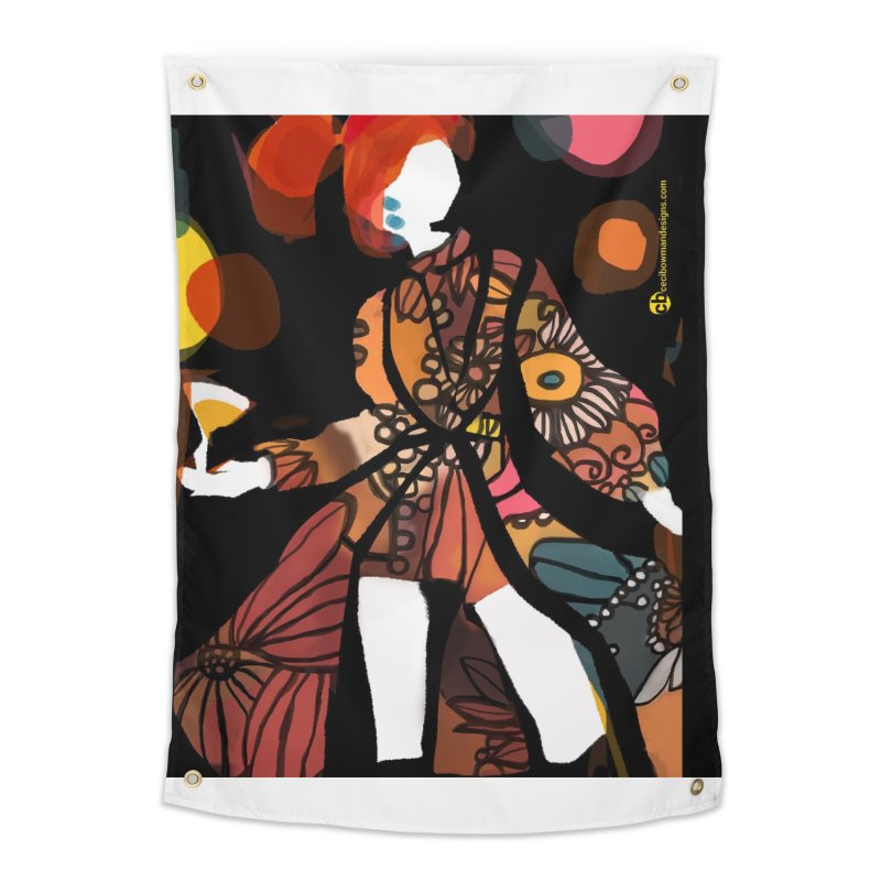 Transformation on The Dance Floor Home Tapestry by Ceci Bowman's Product Site