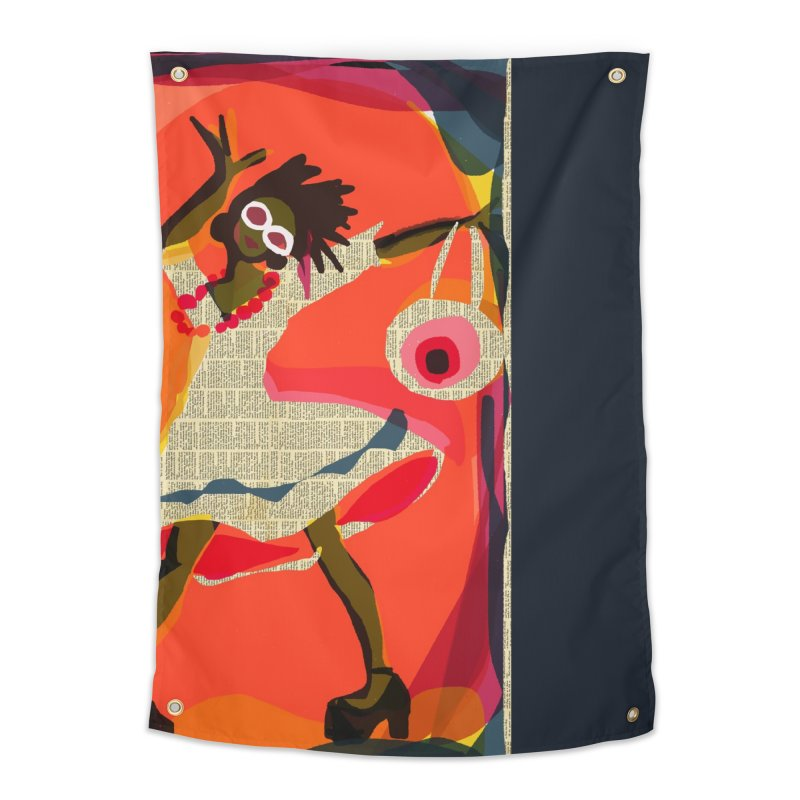 Groove On Home Tapestry by Ceci Bowman's Product Site