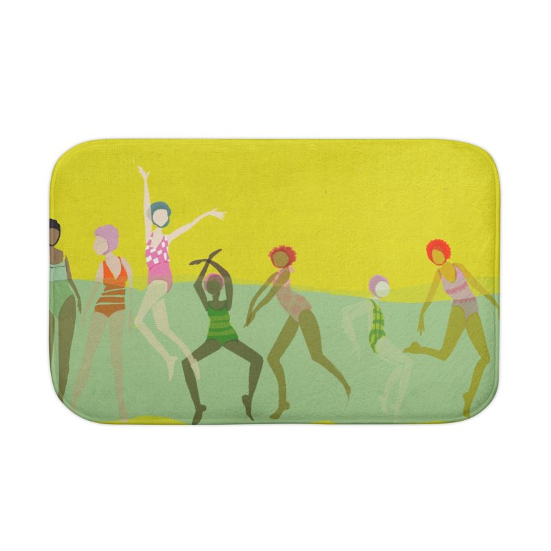 Swimmer Girls 2 Home Bath Mat by Ceci Bowman's Product Site