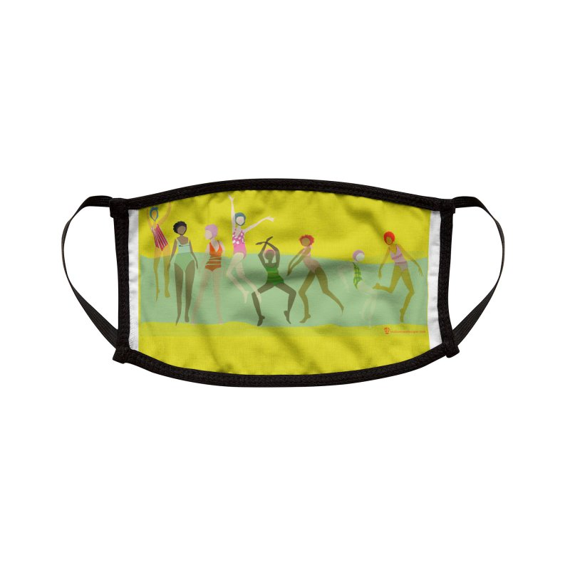 Swimmer Girls 2 Accessories Face Mask by Ceci Bowman's Product Site