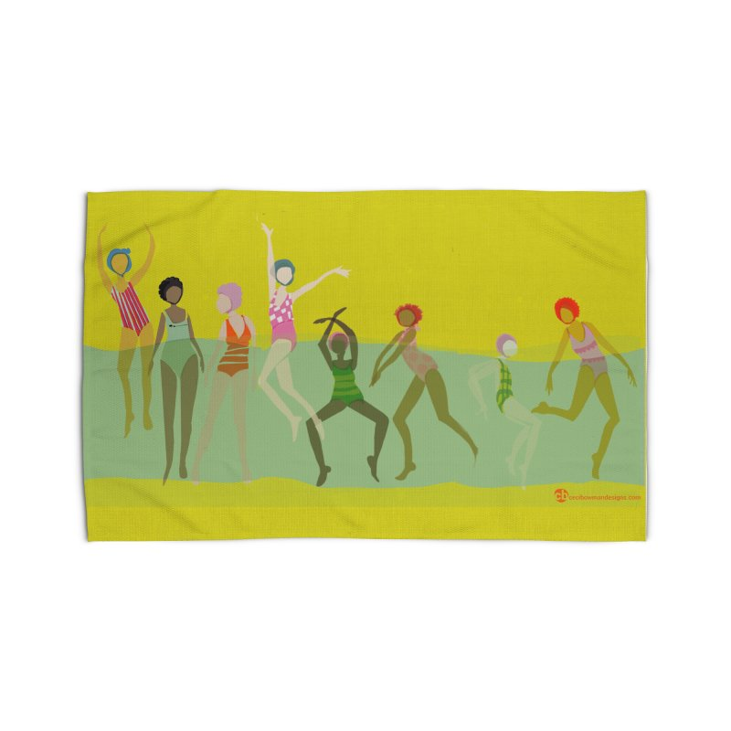 Swimmer Girls 2 Home Rug by Ceci Bowman's Product Site