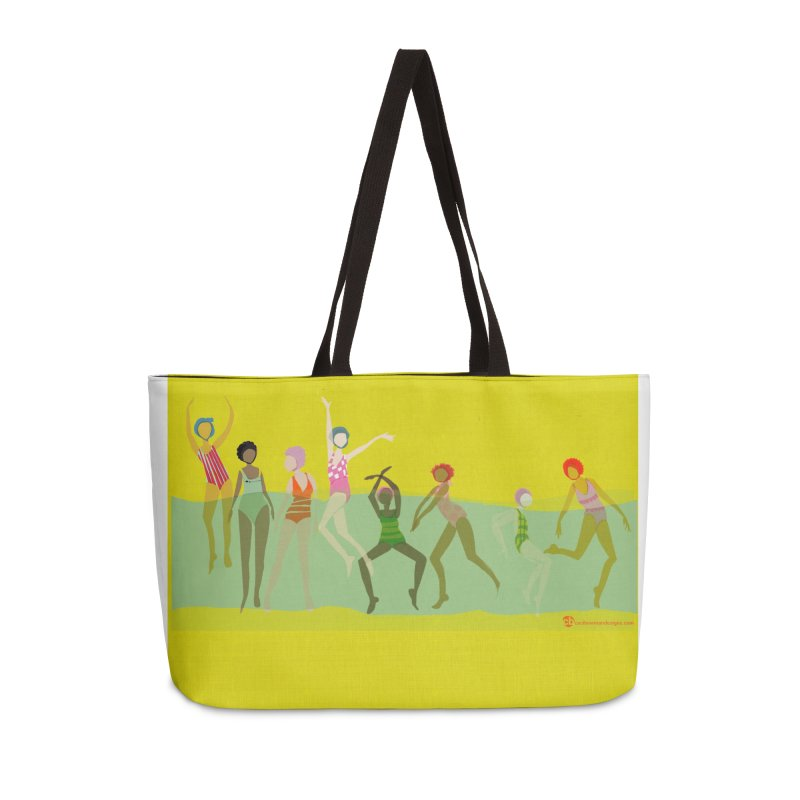 Swimmer Girls 2 Accessories Weekender Bag Bag by Ceci Bowman's Product Site