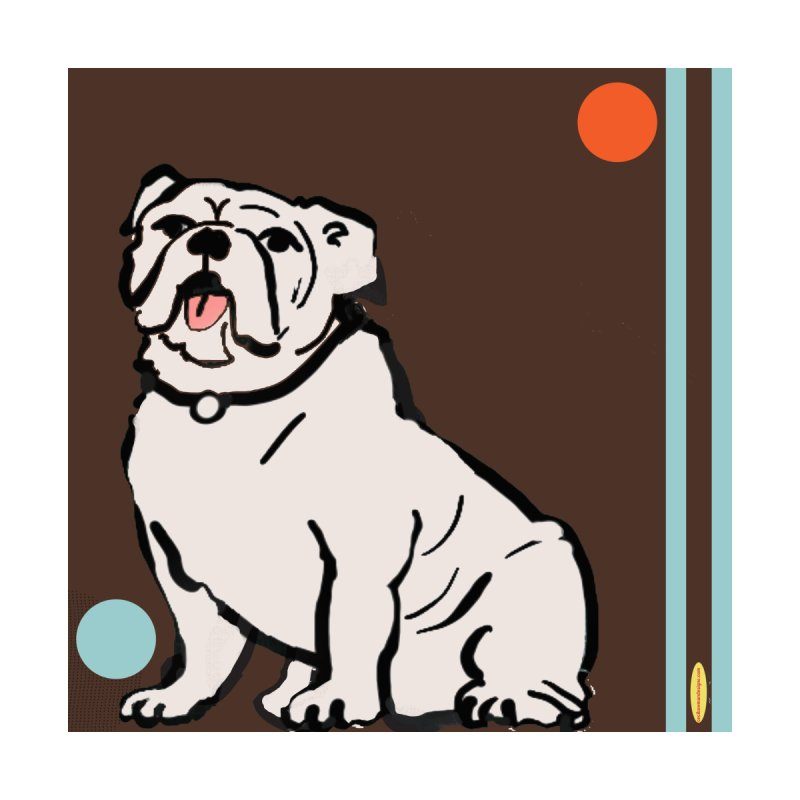 Bull Dog Home Throw Pillow by Ceci Bowman's Product Site
