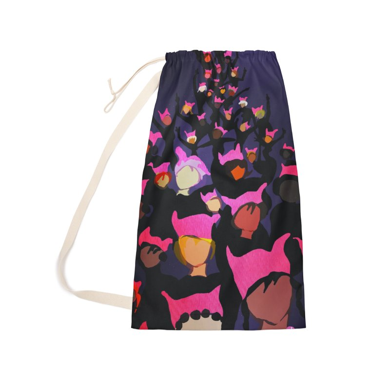 Women's March Design by Ceci Bowman Accessories Laundry Bag Bag by Ceci Bowman's Product Site